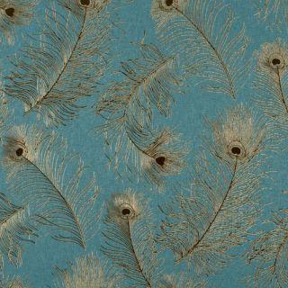 York Wallcoverings Bling Peacock Tail Wallpaper