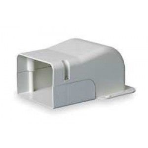 """DiversiTech 230 WC4 4"""" Wall Penetration Cover Fitting for SpeediChannel Line Set Cover"""