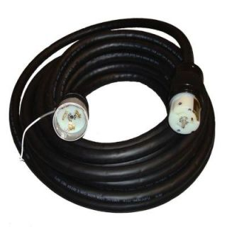 GenTran 75 ft. 6/4 with 4 wire 50 Amp Locking CS6365 Male and CS6364 Female Generator Cord DISCONTINUED RJB06475