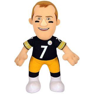 "NFL Player 10"" Plush Doll Pittsburgh Steelers, Ben Roethlisberger"