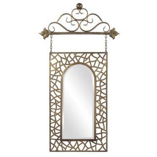 Lucy Bronze Finish Hanging Mirror  ™ Shopping   Great