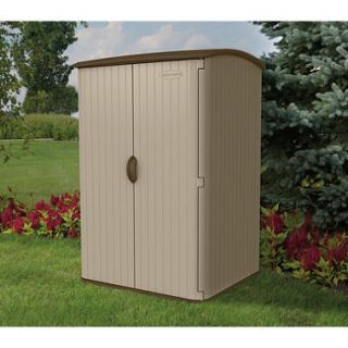 Suncast 6.5 H x 4 W Vertical Extra Large Resin Shed