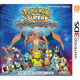 Pokemon Super Myst Dungeon (Nintendo 3DS)   Pre Owned