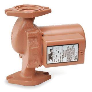 TACO 1/8 HP Bronze Hot Water Circulator Pump   4PC93|009 BF5 3   Grainger