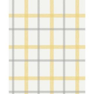 Graham & Brown 56 sq. ft. Plaid Wallpaper 20 541
