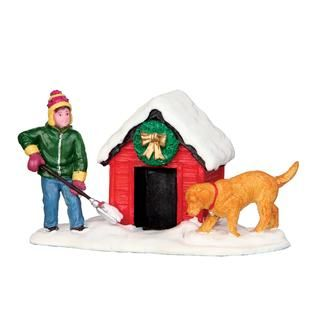 Coventry Cove by Lemax Christmas Village Figurine, Digging Out The