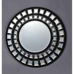 Dual Border 24 inch Family Round Mirror   13834908