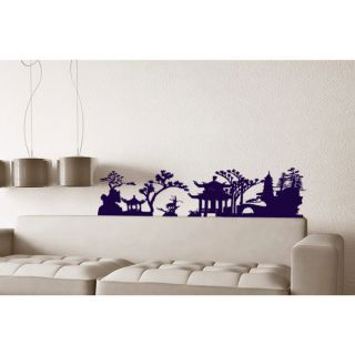 Japanese Garden Sticker Vinyl Wall Art