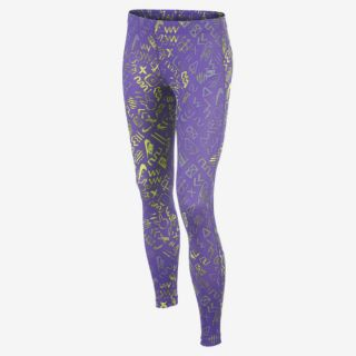 Nike Run Heritage Printed Girls Leggings