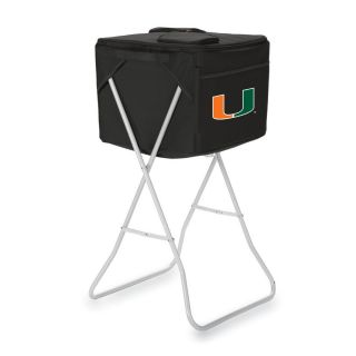 Picnic Time 2868 cu in Miami Hurricanes Polyester Chest Cooler