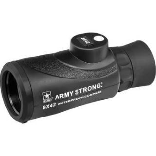 US ARMY 8x42 Waterproof Monocular with Compass US MC842