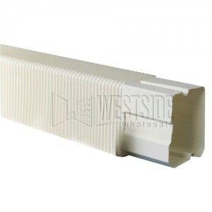 """DiversiTech 230 FJ4 4"""" Flex Joint Fitting for SpeediChannel Line Set Cover"""