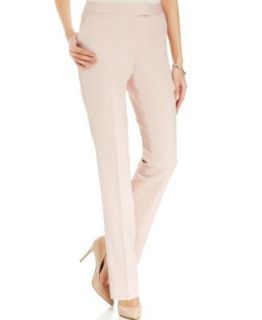 Tahari by ASL Floral Print Blouse & Pink Straight Leg Dress Pants