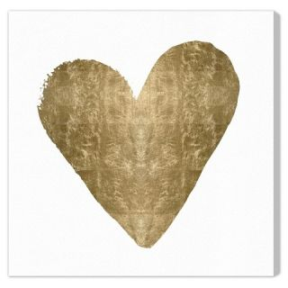 Oliver Gal Unframed Wall Heart Canvas Art