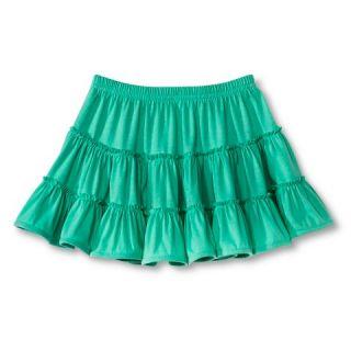 Toddler Girls Tiered Knit Skirt