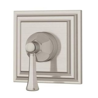 Symmons Canterbury 1 Handle 2 Outlet Diverter Trim Kit in Satin Nickel 45 458 STN