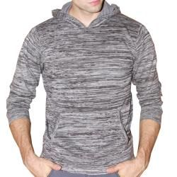 191 Unlimited Mens Grey Heathered Hoodie   14195085