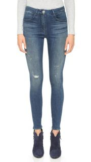 3x1 High Rise Selvedge Skinny Jeans