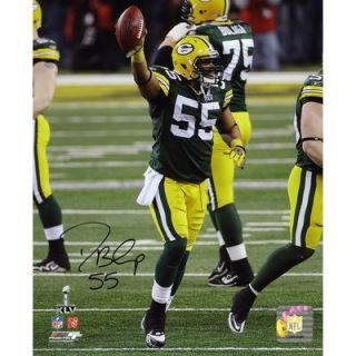 Desmond Bishop Green Bay Packers  Authentic Autographed 8 x 10 Super Bowl XLV Photograph