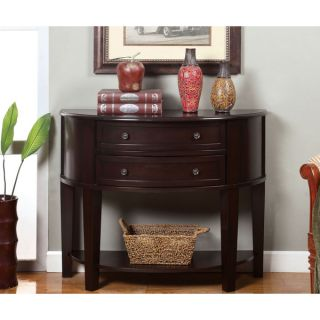 Furniture of America Chantz 2 drawer Espresso Occasional Accent Table