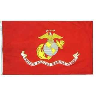 Annin Flagmakers 4 ft. x 6 ft. U.S. Marine Corps Armed Forces Flag 439007