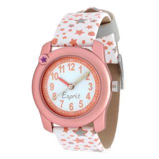 Esprit Girls Analog Quartz Watch with Colored Pencil Set   16686231
