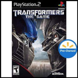 Transformers The Game (PS2)   Pre Owned