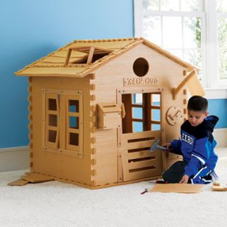 Real Construction Kid Cabin