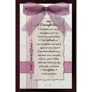 Dexsa My Daughter Wood Plaque   18351222   Shopping