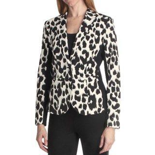 Paperwhite Animal Print Jacket (For Women) 5798K 90