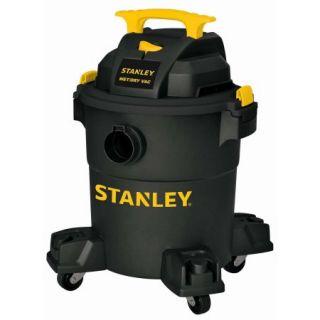 Stanley 6 gallon, 4 peak horse power, wet dry vacuum