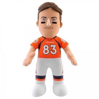 """NFL Player 10"""" Plush Doll Denver Broncos, Wes Welker"""