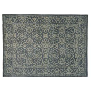 Peshawar Hand Knotted Oriental 100 percent Wool Rug (101 x 138