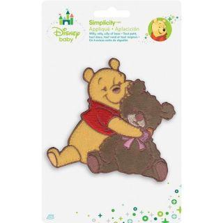 Disney Winnie The Pooh Pooh & Bear Iron On Applique     16019060