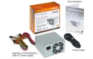 Startech 400 Watt ATX12V 2.01 Dell Replacement Computer PC Power Supply   Power supply ( internal )   ATX12V 2.01   AC 115/230 V   400 (ATXPW400DELL)