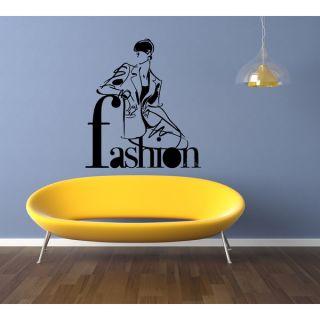 Girl trend Fashion Wall Art Sticker Decal   18341516