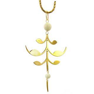 Royal Charm Palmette Gold Plated Ornament   Shopping   Big