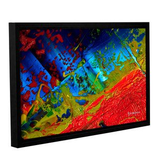 ArtWall Byron May Emotional Chaos Gallery wrapped Floater framed