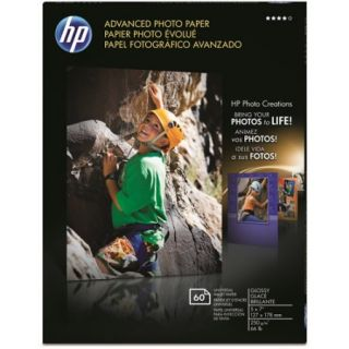 HP Q8690A Advanced Photo Paper, Glossy (60 Sheets, 5 x 7 inch)