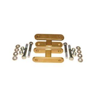 Performance Accessories 0080 1 1/2 Lift Shackles for All Year Toyota FJ40/FJ60/Pickup