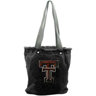 Texas Tech Red Raiders Womens Vintage Shopper Bag   Black