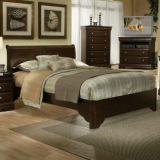 Alpine Furniture Chesapeake Sleigh Customizable Bedroom Set