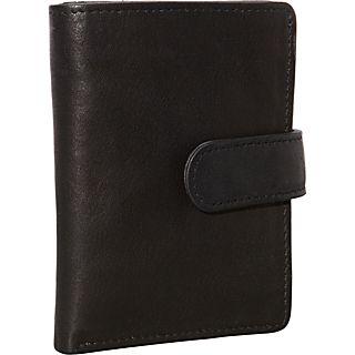 Derek Alexander Show Case Wallet with Centre Wing