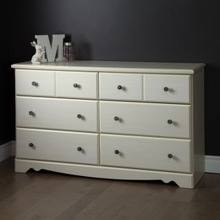 South Shore Country Poetry 6 Drawer Double Dresser   17479661