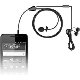 MXL MM 160 Lavalier Microphone for Cell Phones and Tablets MM160