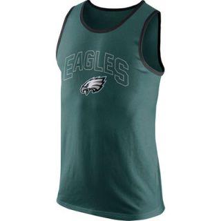 Philadelphia Eagles Nike Cotton Team Tank Top   Green