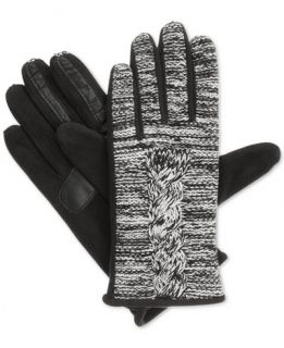 Isotoner Signature SmarTouch Marled Cable SmarTouch Tech Gloves