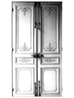 Porte Haussmannienne Sticker   by Maison Martin Margiela White / Grey by Maison Martin Margiela