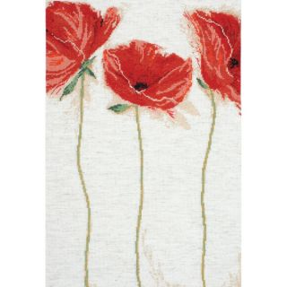 Flamenco Poppies Counted Cross Stitch Kit   15357391