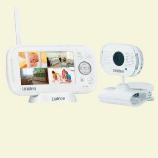 Uniden Wireless 4.3 in. Indoor Baby Monitor with Portable Surveillance Camera DISCONTINUED UBR243